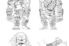 LUDUS Diseño de personaje Ferus salvaje